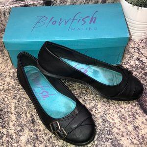 Blowfish Shoes - Blowfish Malibu GELSEY brown flats size 8.5